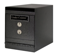 under counter safe installation