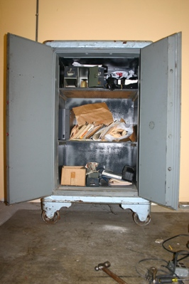 Mosler safe contents are now available, opened by Bill Kushnick